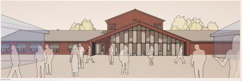 Pressinbjudan: Första spadtaget för över 1 100 m² Musikens hus på Kävesta