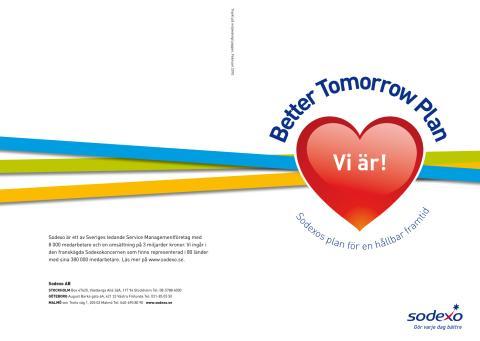 Better Tomorrow Plan - Sodexos globala plan för en hållbar framtid