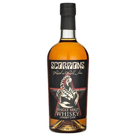 Scorpions Rock 'n Roll Star Single Malt Whisky Cherry Cask
