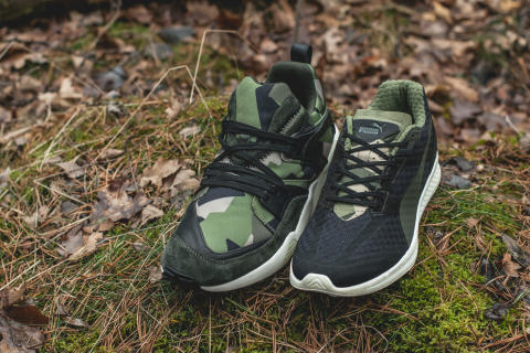 "Sneakersnstuff and PUMA ""Swedish Camo Pack"""