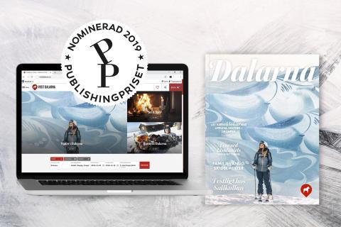 Visit Dalarna nominerade till Publishingpriset 2019