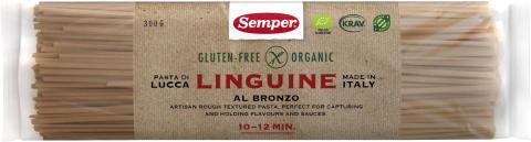 Glutenfri och ekologisk Linguine