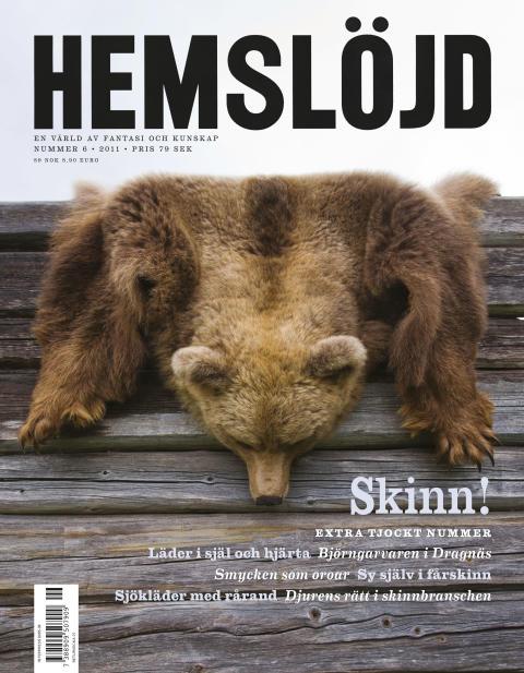 Hemslöjd 6/2011 – Skinn!