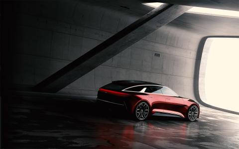 Kia visar konceptbil på Frankfurtsalongen