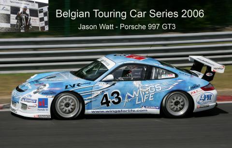 Jason Watt, Wings for Life Porsche