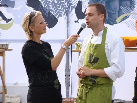 Stefan Eriksson, Årets kock 2005, kocksnackar med Annika Unt Widell