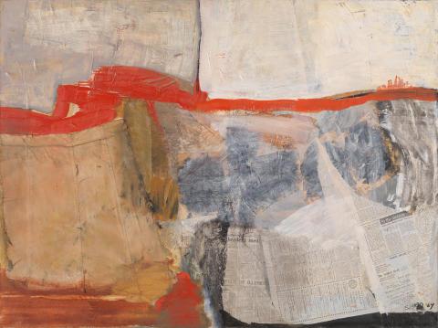 Årets sommerutstilling i Nasjonalgalleriet: Rom for abstraksjon  Impulser i norsk kunst 1957 − 75