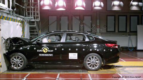Optima EuroNCAP front