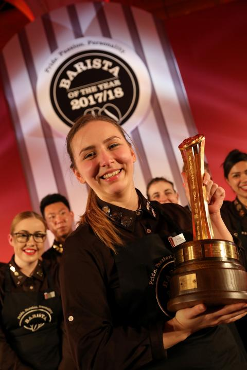 LONDON BARISTA BECOMES BARISTA OF THE YEAR CHAMPION IN PRESTIGIOUS GLOBAL COMPETITION