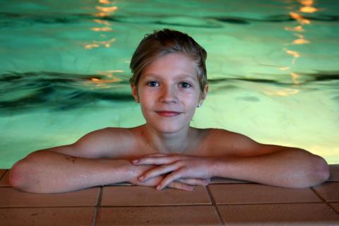 Härliga dagar med pool och spa på sportlovet