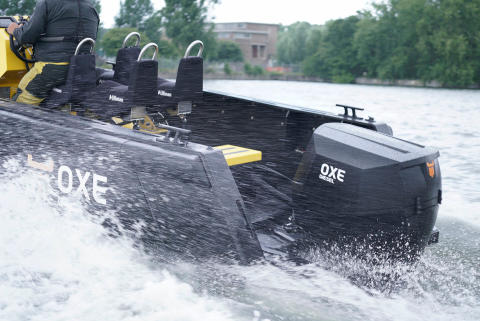 Boats used for testing the OXE Diesel