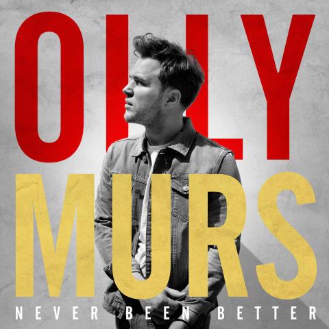 """Olly Murs är tillbaka! Nya albumet """"Never Been Better"""" släpps 21 november"""