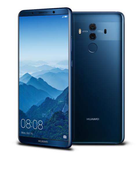 Artificiell intelligens och högkvalitativ design: Huawei lanserar Mate 10 Pro i Sverige