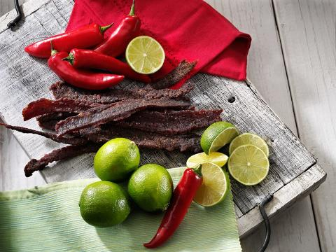 Wild West Deli Jerky ingredienser