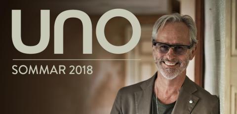 Uno Svenningsson klar för turné sommaren 2018 – avslutar på Mosebacketerrassen 27 augusti!