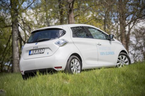 Renault ZOE - 100% elbil