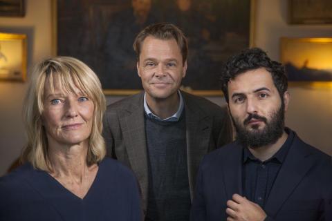 Lena Laurén, Jonas Steken Magnusson och Soran Ismail, SVT,  nominerade till Årets Berättare