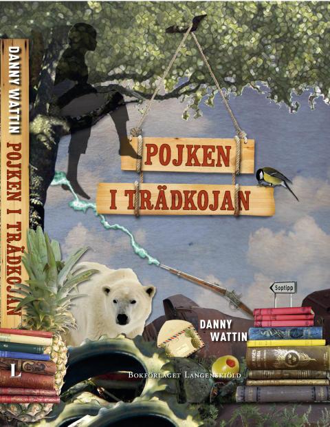 Författaren Danny Wattin ger ut sin första barnbok