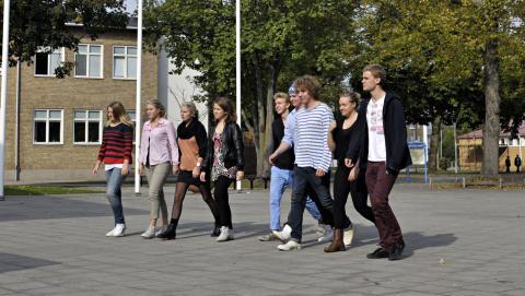 De la Gardiegymnasiet bäst i Sverige, när eleverna själva får välja