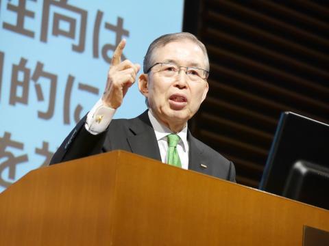Nidec Founder Shigenobu Nagamori Shares his Outlook on Four Brushless DC Motor Related Trends