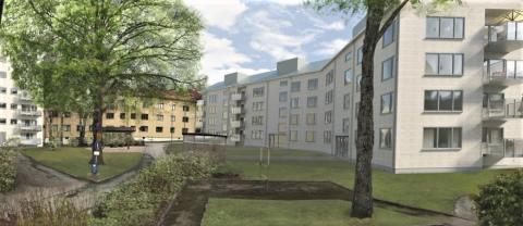 Egnahemsbolaget väljer Erlandsson Bygg för bostadsrätter i Göteborg