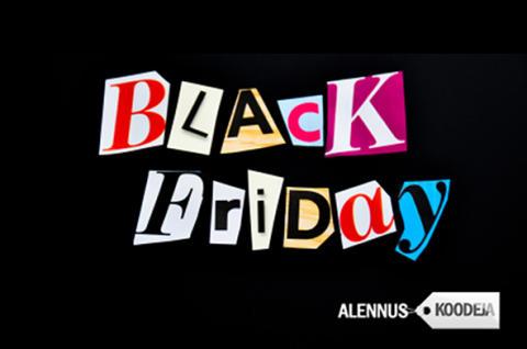 Black Fridayn alennukset ja  tarjoukset yhdeltä nettisivulta