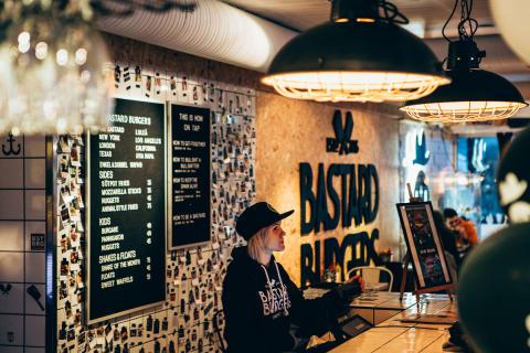Imponerande och prisade Bastard Burgers klara för S:t Paul