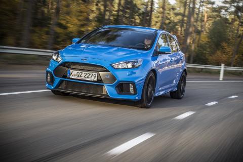 Ford právě zahájil výrobu nového  Focusu RS!