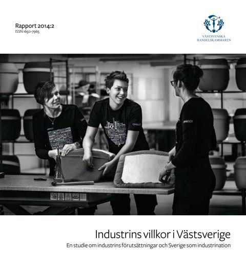 Rapport: Industrins villkor i Västsverige