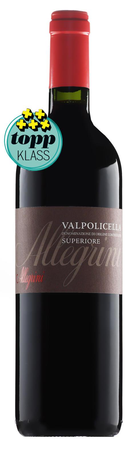 """""""Sammetsmjukt vin utmärkt till pastan!"""" = Allegrini Valpolicella Superiore!"""