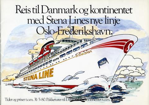 Stena Saga katalog 1980 omslag