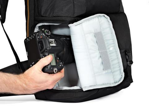 Lowepro Fastpack II 150 AW sideadgang