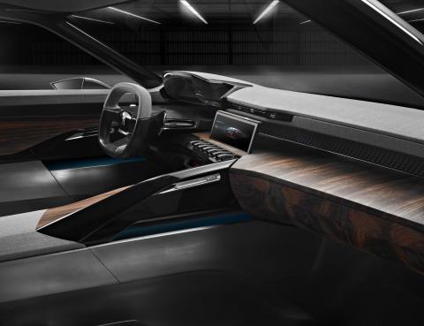 Peugeot Exalt konceptbil interiör_passagerare