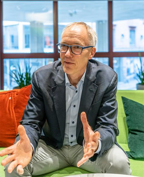 Ny innovativ VD till Sveriges ledande företag inom tillgänglighet i vården.