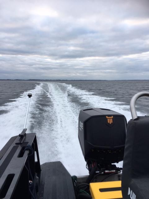 Tiderman test boat 3