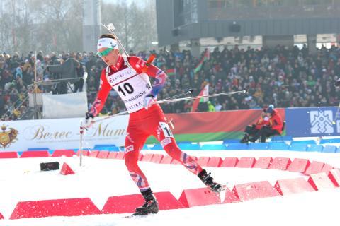 Aslak Nenseter, jaktstart jr-vm, Minsk