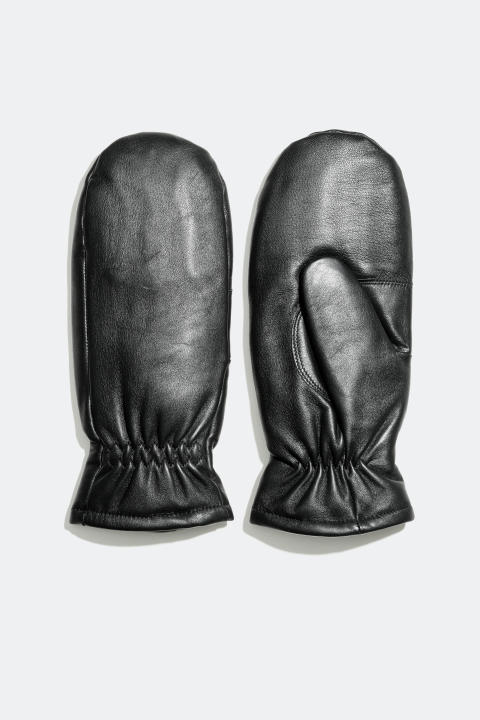 Leather gloves with termal Thinsulate