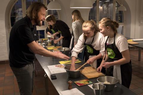 Nikolaj Rud Tobiassen, leder af Spisehuset og Spisekammeret deltog også