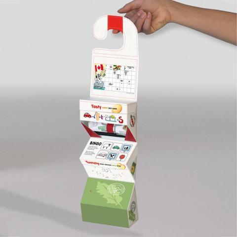 Två bidrag bland de tolv främsta i Re:create packaging
