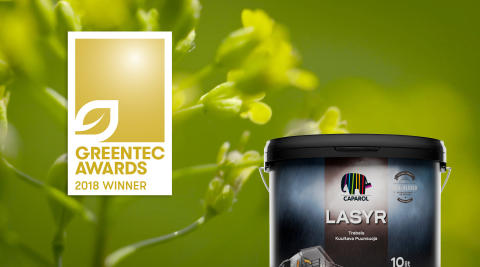 Caparol vinner GreenTec Award 2018