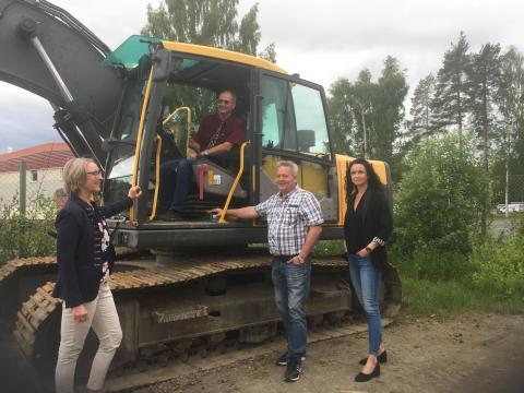 Framtidens maskinförare utbildas i Skellefteå!