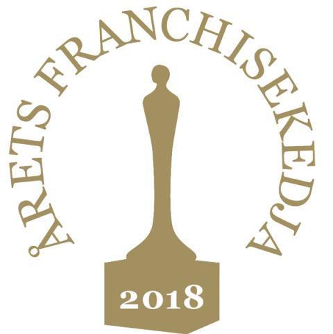 """Pressbyrån nominerade till """"Årets Franchisekedja"""""""