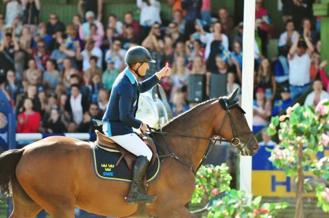 Rekordstort antal besökare på Falsterbo Horse Show