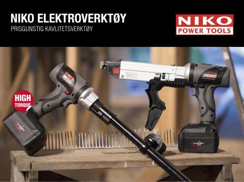 Skru terrassegulvet med Niko batteridrevet 18V skruautomat m/forlenger!