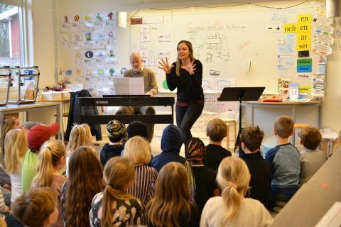 Jubileum för skolsångsprojekt som gynnar integration och skapande