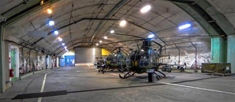 Spännande flygmuseum alldeles intill mässområdet