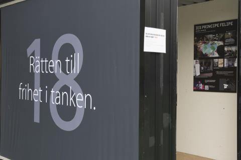 KUB SKICKAS FRÅN GÖTEBORG TILL STOCKHOLM FÖR UTSTÄLLNING