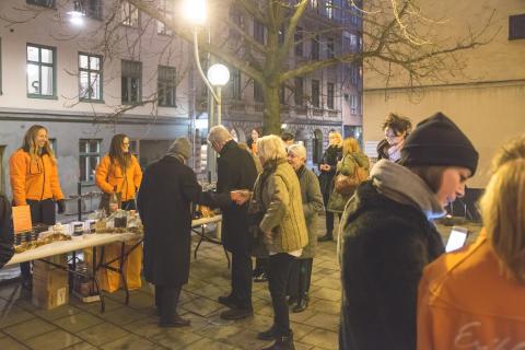 Hjälp oss att samla in gåvor till Stadsmissionen