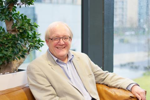 Simon Tavaré, hedersdoktor på Chalmers 2014