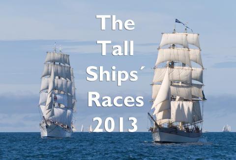 Start för Tre Kronor i The Tall Ships´ Races